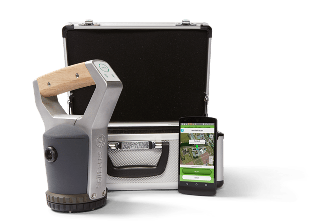SoilCares scanner-set